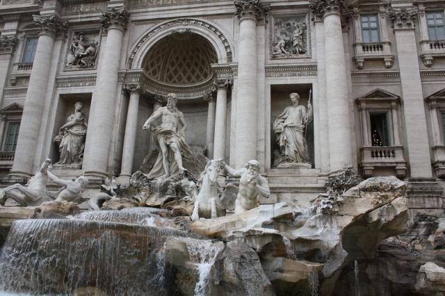 Trevifontænen fra efterårets studietur til Rom