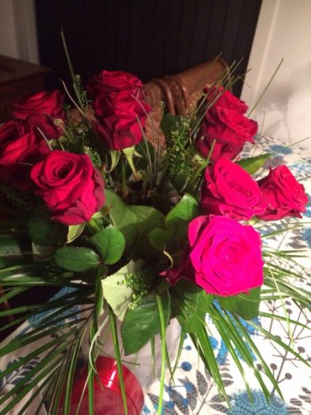 Svigersønnen har forstået princippet bag Valentine's Day bedre end sin svigerfar, kan jeg konstatere!