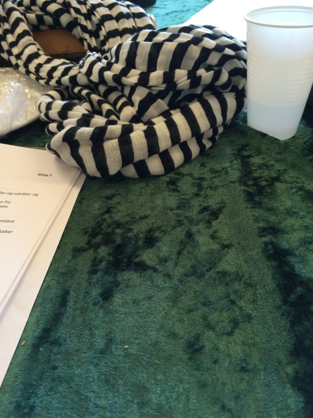 Det grønne bord...