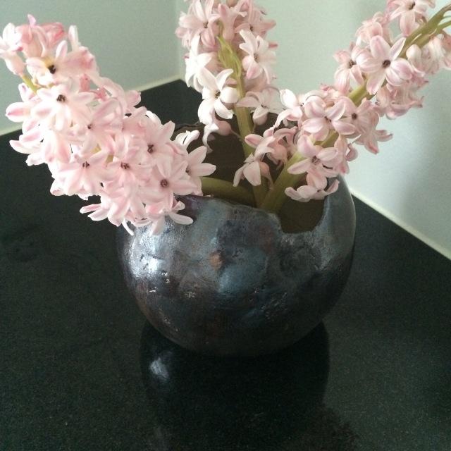 Vase lavet af min søster